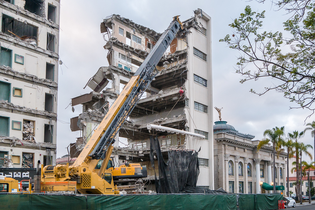 Bankers Hill Demolition Makes Room for 60 Luxury Condos